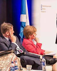 First Minister of Scotland Nicola Sturgeon MSP speaking at a public discussion in Edinburgh for EU nationals living in Scotland<br /> <br /> (c) John Baguley | Edinburgh Elite media