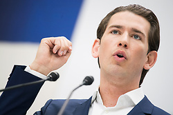 04.05.2019, Sofiensäle, Wien, AUT, ÖVP, Wahlkampfauftakt zur EU-Wahl. im Bild Bundeskanzler Sebastian Kurz (ÖVP) // Austrian Federal Chancellor Sebastian Kurz during campaign opening regarding to Eurpean Parliment Elections of the Austrian People' s Party in Vienna, Austria on 2019/05/04. EXPA Pictures © 2019, PhotoCredit: EXPA/ Michael Gruber