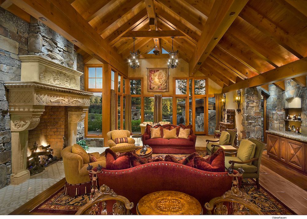 Residential Home 488 Lahontan by Doc Gelson Construction, Ward Young Architects, Bentley Design, Truckee, CA