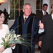 Jaap Kos trouwt zijn eigen dochter in Huizen
