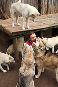 Dariusz Morsztyn i jego psy. Republika Ściborska