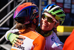 Tayler Wiles (Orica AIS) Flèche Wallonne Femmes - a 137km road race from starting and finishing in Huy on April 20, 2016 in Liege, Belgium.
