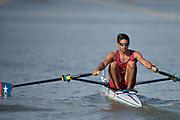Plovdiv BULGARIA. 2017 FISA. Rowing World U23 Championships. <br /> CHI BLM1X. MEDINA BONILLA, Marcelo<br /> Wednesday. PM,  Heats 17:40:50  Wednesday  19.07.17   <br /> <br /> [Mandatory Credit. Peter SPURRIER/Intersport Images].