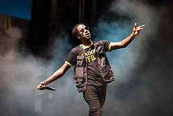 September 9, 2018 - K Camp (Kristopher Campbell) performing at One MusicFest in Atlanta, GA on 09 September 2018 (Credit Image: © RMV via ZUMA Press)