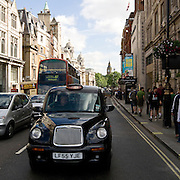 Hackney carriage or Black cabs the traditional Taxicab in London
