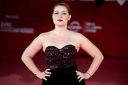 October 28, 2017 - Rome, Italy - Italian singer Noemi attends red carpet of the film 'Stronger' at the Rome Film Fest in Rome, Saturday, Oct. 28, 2017. (Credit Image: © Massimo Valicchia/NurPhoto via ZUMA Press)