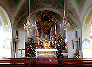 Dome interior at Salzburg Austria