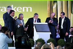 Presidente Luis Inácio Lula da Silva durante a inauguração da planta de eteno verde da Braskem, no pólo petroquímico, em Triunfo, no RS. FOTO: Mauro Schaefer/Preview.com