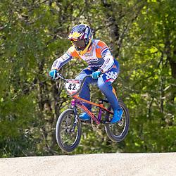 05-05-2020: Wielrennen: BMX KNWU: Papendal<br />De BMX'ers met A status mochten weer trainen, Jay Schippers