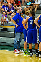 21 June 2014: Rodney Schulte (25th year as manager) , 2014 Girls Illinois Basketball Coaches Association All Start game at the Shirk Center in Bloomington IL
