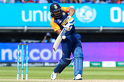 Rohit Sharma of India hits a four - Mandatory by-line: Robbie Stephenson/JMP - 30/06/2019 - CRICKET - Edgbaston - Birmingham, England - England v India - ICC Cricket World Cup 2019 - Group Stage