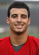 Marist football player Zach Adler. Aug. 9, 2013.