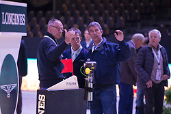 Ehrens Rob (NED), Van Der Vleuten Maikel (NED), Van Der Vleuten Eric (NED)<br /> Longines FEI World Cup™ Jumping Final 2013/2014<br /> Lyon 2014<br /> © Dirk Caremans