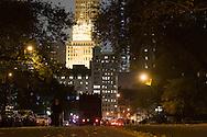 New York. central park at night  New York, Manhattan - United states / central park la nuit  Manhattan, New York - Etats-unis