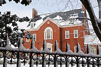 Back side View of the Governor's mansion, Annapolis, Maryland