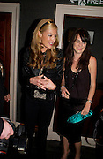 Cat Deeley and Anna Foster. Jewellers Adler  celebrate their 20 th anniversary in London.  5 Cavendish Square, London. 4 May 2005. ONE TIME USE ONLY - DO NOT ARCHIVE  © Copyright Photograph by Dafydd Jones 66 Stockwell Park Rd. London SW9 0DA Tel 020 7733 0108 www.dafjones.com