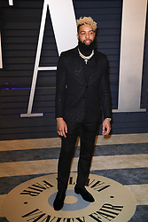 Odell Beckham Jr. attending the 2019 Vanity Fair Oscar Party hosted by editor Radhika Jones held at the Wallis Annenberg Center for the Performing Arts on February 24, 2019 in Los Angeles, CA, USA. Photo by David Niviere/ABACAPRESS.COM