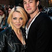 NLD/Amsterdam/20100415 - Uitreiking 3FM Awards 2010, Nikki Kerkhof en partner