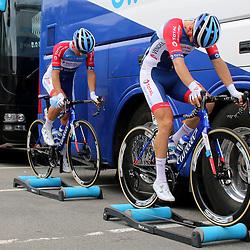 PFAFFNAU (SUI) CYCLING<br /> Tour de Suisse stage 3<br /> <br /> Warmup
