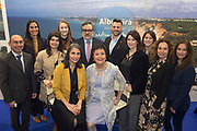 NO FEE PICTURES<br /> 25/1/19 Portugese Schools pictured at the Holiday World Show 2019 at the RDS Simmonscourt in Dublin. Picture; Arthur Carron