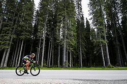 Luka Cotar competes at Sloveian Road Cycling Championship Time Trial 2020 Gorje - Pokljuka, on June 28, 2020 in Pokljuka, Slovenia. Photo by Matic Klansek Velej / Sportida