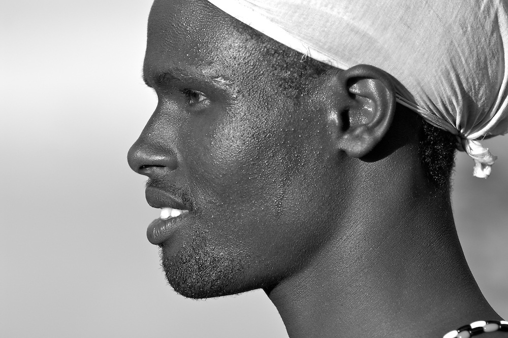 Portrait of a Samburu morran