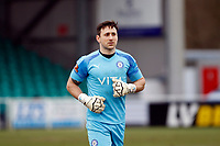 Ben Hinchliffe. Eastleigh FC 1-0 Stockport County FC. Vanarama National League. Silverlake Stadium. 20.02.21