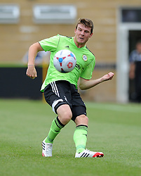 Forest Green Rovers Chris Stokes  - Photo mandatory by-line: Dan Rowley/JMP  - Tel: Mobile:07966 386802 20/07/2013 -Forest Green Rovers  vs Bristol City  - SPORT - FOOTBALL - Forest Green Rovers - Bristol city  -