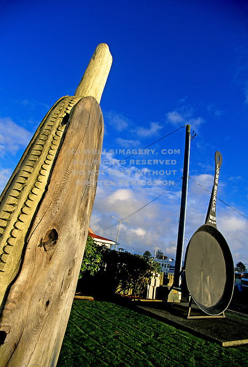 Image of the World's Largest Frying Pan in Long Beach, Washington, Pacific Northwest by Andrea Wells