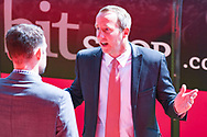 Lee Bowyer of Charlton Athletic (Manager) arrives at the ground during the EFL Sky Bet League 1 play off first leg match between Doncaster Rovers and Charlton Athletic at the Keepmoat Stadium, Doncaster, England on 12 May 2019.
