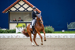 FREIRE Boaventura (POR), Sai Baba Plus<br /> Hagen - Horses and Dreams 2019<br /> Grand Prix de Dressage CDI4* Special Tour<br /> 27. April 2019<br /> © www.sportfotos-lafrentz.de/Stefan Lafrentz