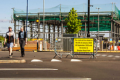 Eased lockdown day one, Edinburgh, 11 May 2020