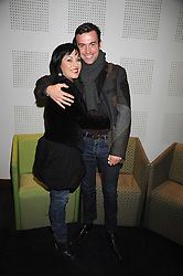 """JESSIE WALLACE and TOM ? at a VIP Opening night of Disney & Pixar's """"Finding Nemo on Ice"""" at The O2 Arena Grennwich London on 23rd October 2008."""