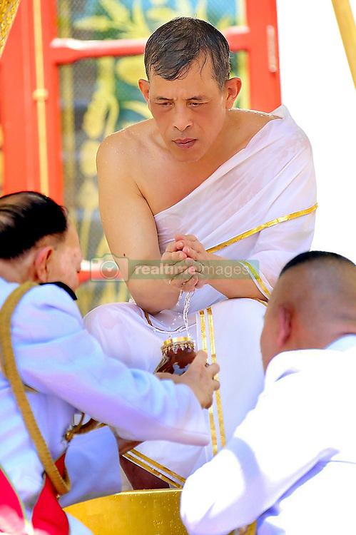 "04-05-2019 Thailand His Majesty the King attends the Royal Purification or the ""Song Muratha Bhisek"" Ceremony at Chakrabat Biman Royal Residence. 04 May 2019 Pictured: 04-05-2019 Thailand His Majesty the King attends the Royal Purification or the ""Song Muratha Bhisek"" Ceremony at Chakrabat Biman Royal Residence. Photo credit: Committee coronation/Pool / MEGA TheMegaAgency.com +1 888 505 6342"