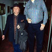 Nieuwjaarsreceptie Strengholt 1997, Rob Bruintjes + Thijs van Leer