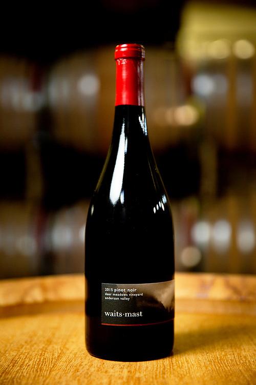 Waits-Mast 2015 Deer Meadows Vineyard Pinot Noir (Anderson Valley) on Tuesday, Nov. 19, 2019, in San Francisco, Calif.