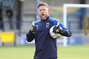 AFC Wimbledon goalkeeping coach Ashley Bayes prior to the game during the Pre-Season Friendly match between AFC Wimbledon and Crystal Palace at the Cherry Red Records Stadium, Kingston, England on 30 July 2019.