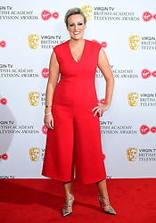 Steph McGovern in the press room at the Virgin TV British Academy Television Awards 2018 held at the Royal Festival Hall, Southbank Centre, London.