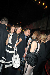 BRYAN FERRY and AMANDA SHEPPARD at the Prada Congo Art Party hosted by Miuccia Prada and Larry Gagosian at The Double Club, 7 Torrens Street, London EC1 on 10th February 2009.