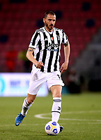 BOLOGNA, ITALY - MAY 23: Leonardo Bonucci of Juventus FC in action ,during the Serie A match between Bologna FC and Juventus FC at Stadio Renato Dall'Ara on May 23, 2021 in Bologna, Italy.(Photo by MB Media/Getty Images)