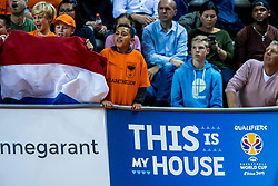 24-11-2017 NED: WC qualification Netherlands - Croatia, Almere<br /> First Round - Group D at the arena Topsportcentrum / Oranje support publiek