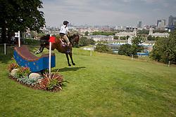 Ostholt Frank (GER) - Sir Medicott<br /> CIC2* Greenwich Park Eventing Invitational<br /> Olympic Test Event - London 2011<br /> © Dirk Caremans