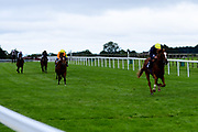 Crystal Pegasus ridden by William Buick and trained by Sir Michael Stoute ridden in the Sky Sports Racing Sky 415 Novice Stakes - Mandatory by-line: Ryan Hiscott/JMP - 24/08/20 - HORSE RACING - Bath Racecourse - Bath, England - Bath Races