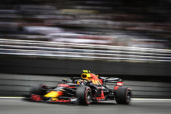 November 10, 2018 - Sao Paulo, Brazil - 33 VERSTAPPEN Max (nld), Aston Martin Red Bull Tag Heuer RB14, action during the 2018 Formula One World Championship, Brazil Grand Prix from November 08 to 11 in Sao Paulo, Brazil -  FIA Formula One World Championship 2018, Grand Prix of Brazil World Championship;2018;Grand Prix;Brazil  (Credit Image: © Hoch Zwei via ZUMA Wire)