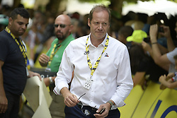 July 28, 2019, Paris, France: Christian Prudhomme, cycling director of ASO (Amaury Sport Organisation), pictured at the final stage of the 106th edition of the Tour de France cycling race, from Rambouillet to Paris Champs-Elysees (128km), France, Sunday 28 July 2019. This year's Tour de France starts in Brussels and takes place from July 6th to July 28th. (Credit Image: © Yorick Jansens/Belga via ZUMA Press)