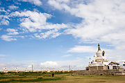 the Erdene Zuu monestry Mongolia