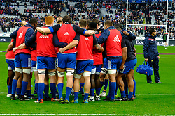 February 3, 2018 - Saint Denis, Seine Saint Denis, France - The French Team before the NatWest Six Nations Rugby tournament between France and Ireland at the Stade de France - St Denis - France..Ireland Won 15-13 (Credit Image: © Pierre Stevenin via ZUMA Wire)
