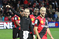 JOIE GUINGAMP  / Thibaut GIRESSE  - 14.12.2014 - Guingamp / PSG - 18eme journee de Ligue1<br /> Photo : Vincent Michel / Icon Sport *** Local Caption ***