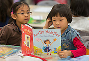 Students read during class at the Mandarin Immersion Magnet School, October 24, 2016.