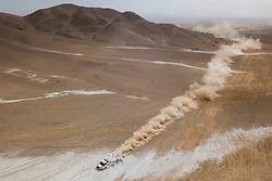 Nasser Al-Attiyah (QAT) of Toyota Gazoo Racing SA races during stage 04 of Rally Dakar 2019 from Arequipa to o Tacna, Peru on January 10, 2019 // Marcelo Maragni/Red Bull Content Pool // AP-1Y39DQKAH2111 // Usage for editorial use only // Please go to www.redbullcontentpool.com for further information. //